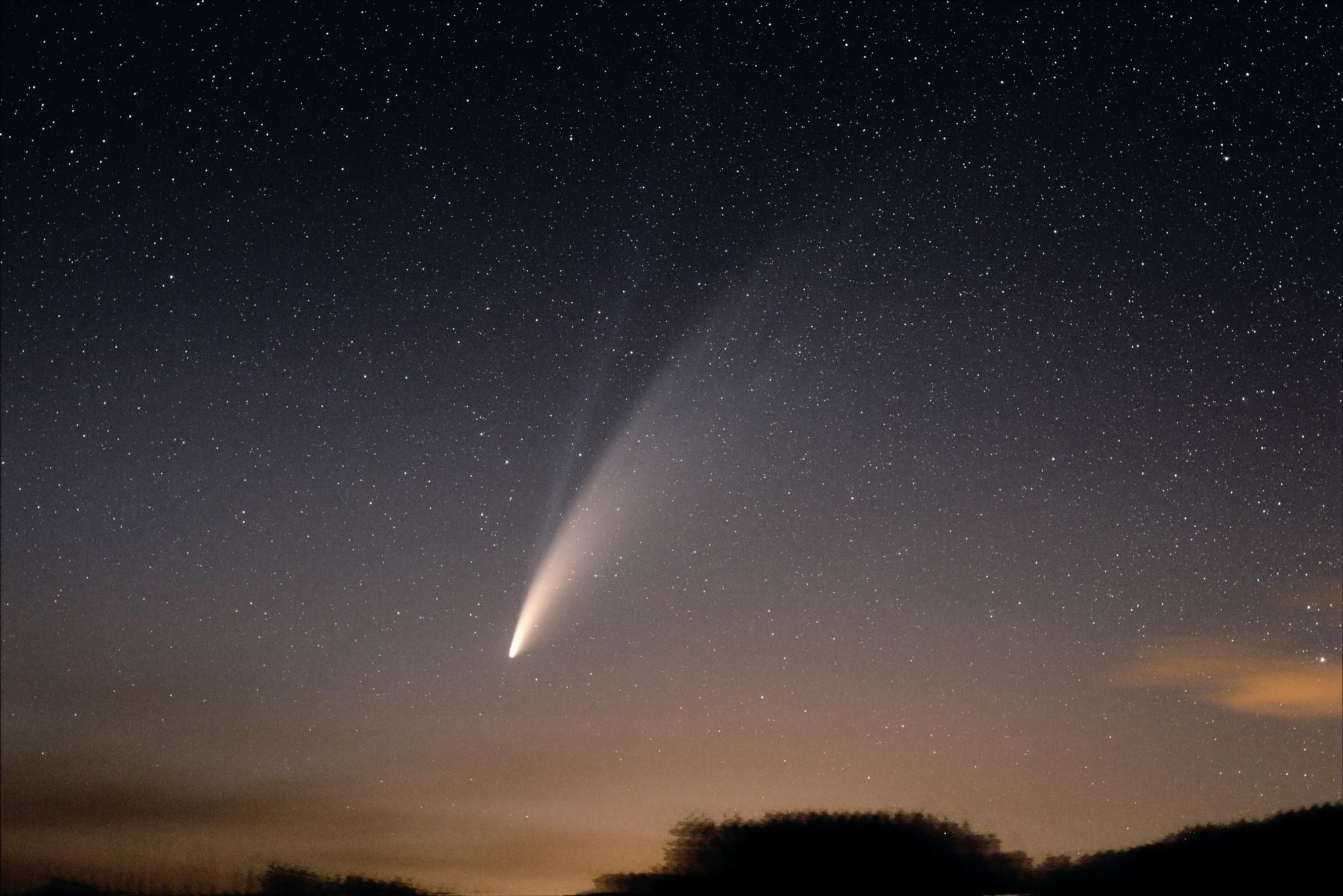 Comet Neowise David Bender