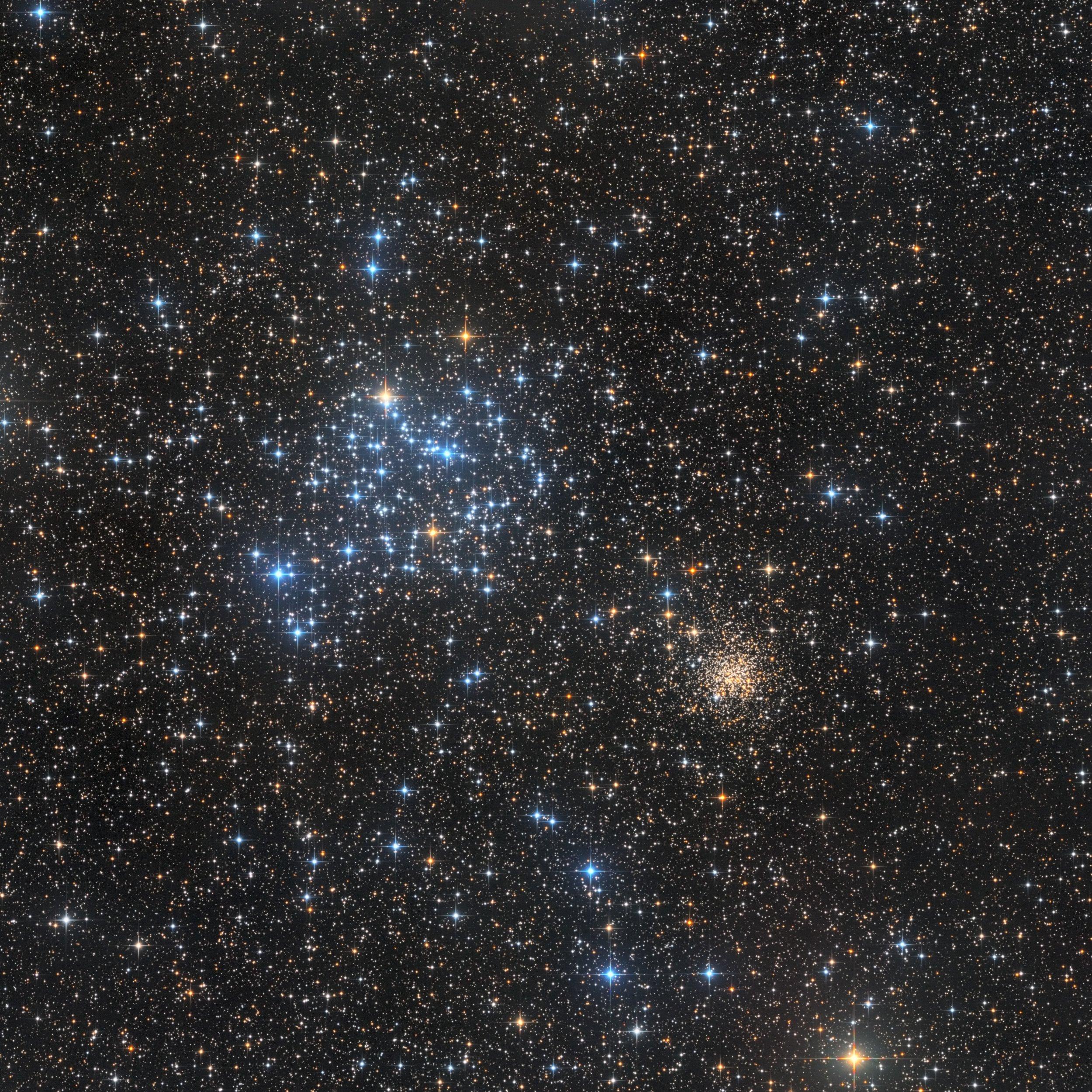 M35 Open Star Cluster Bart Delsaert