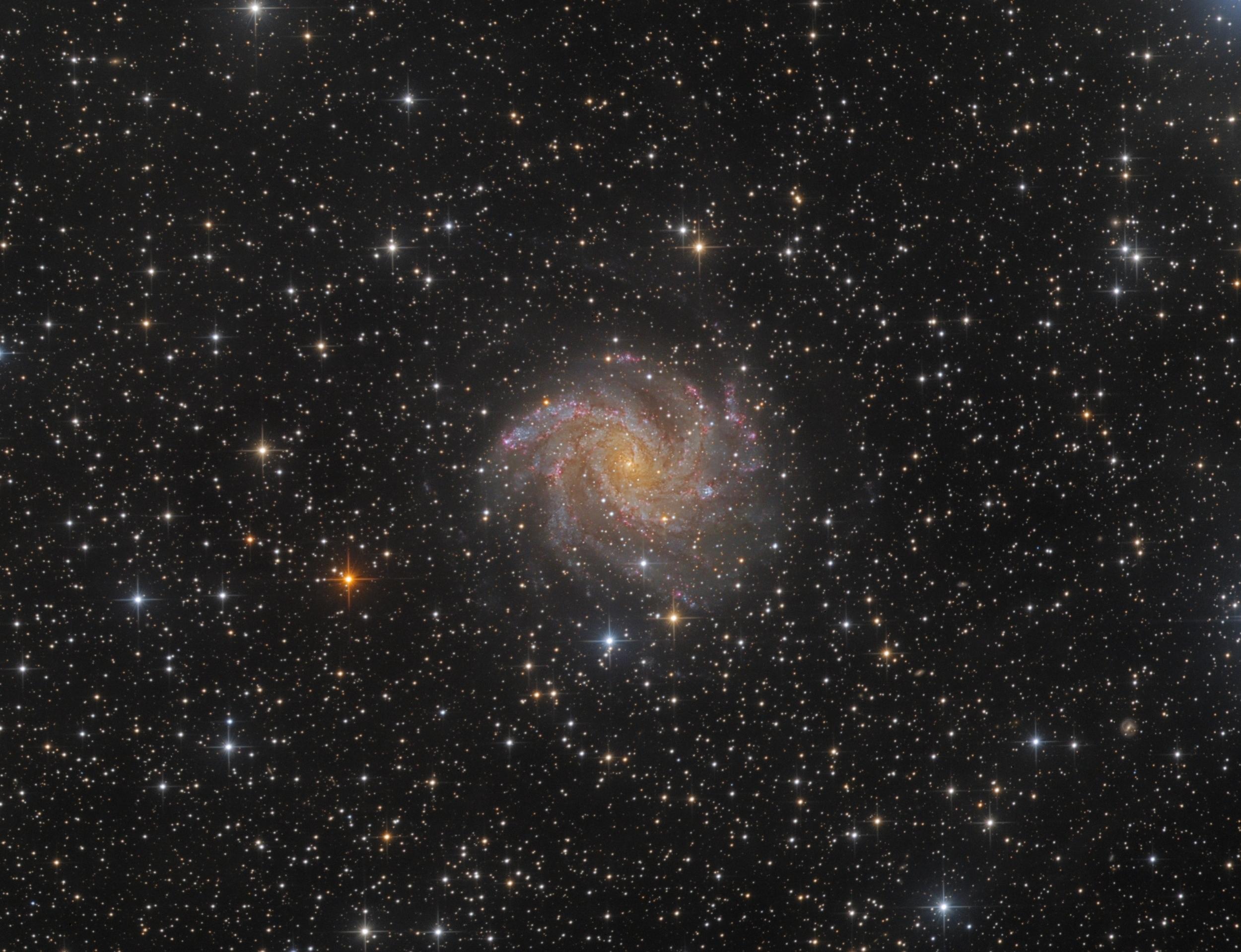 NGC 6942 Spiral Galaxy Markus Blauensteiner