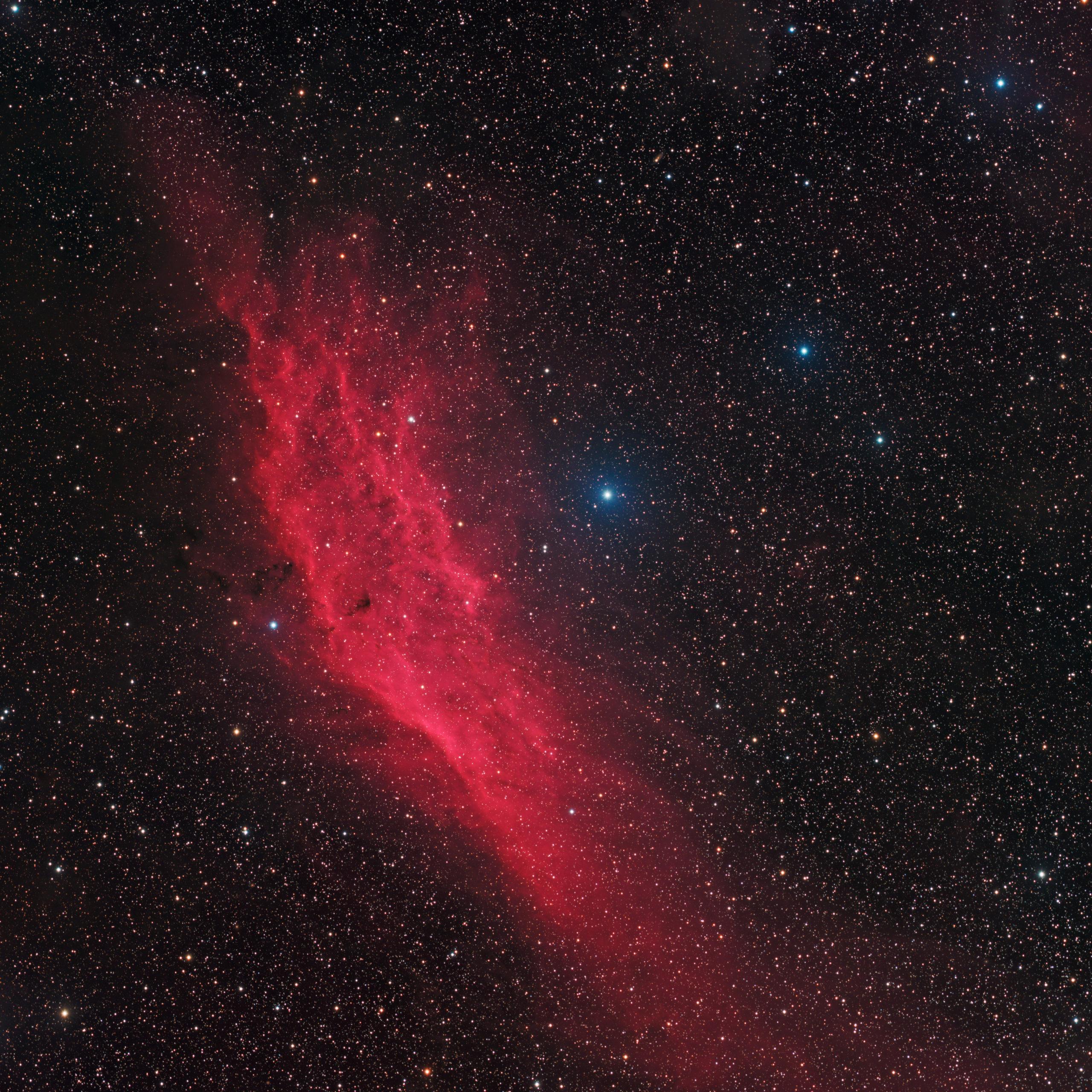 NGC 1499 California Nebula martin Rusterholz