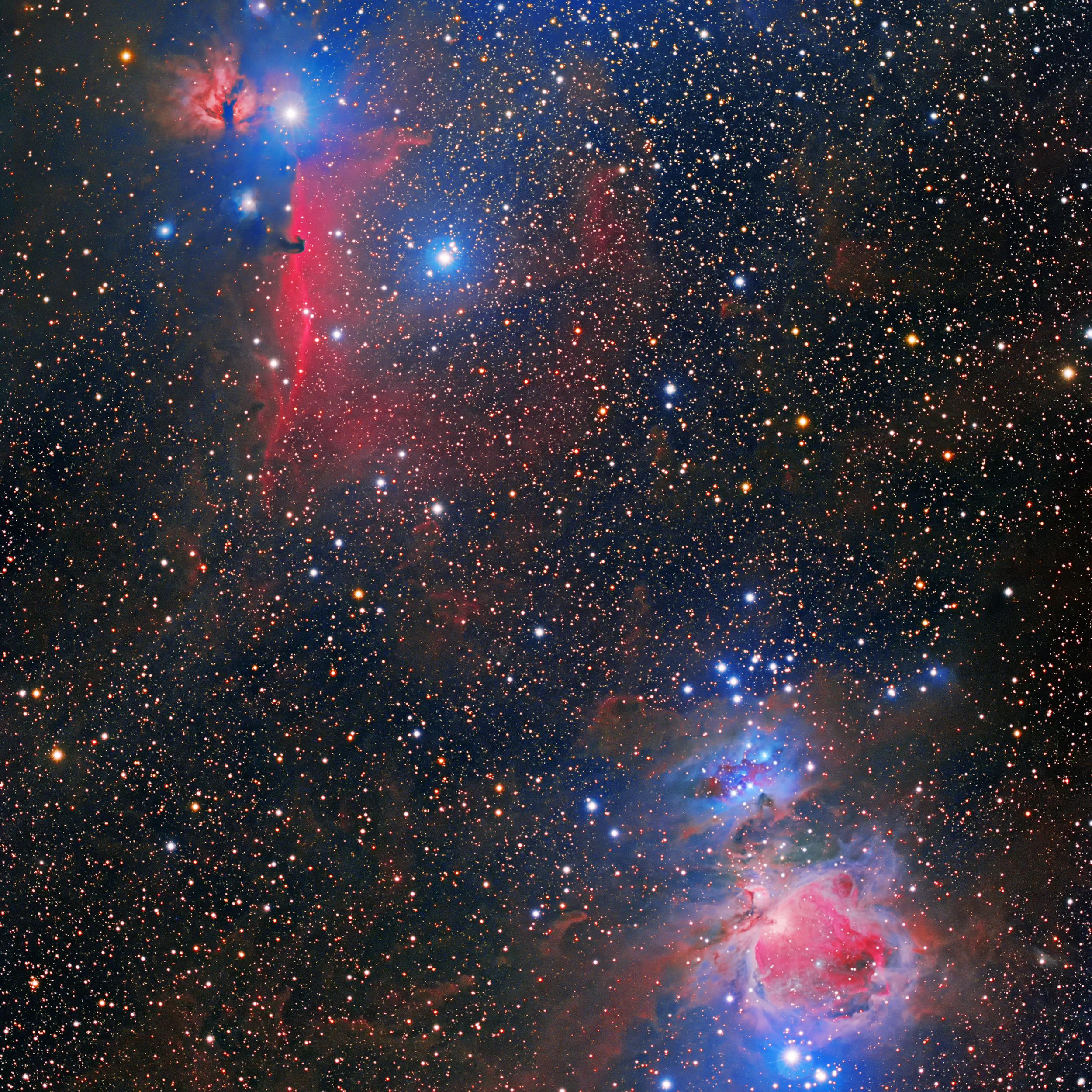 Orions sword Astrophotography Bram Goossens