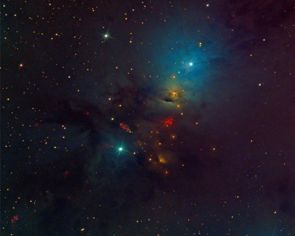 Embryo Nebula (NGC 1333) in Perseus
