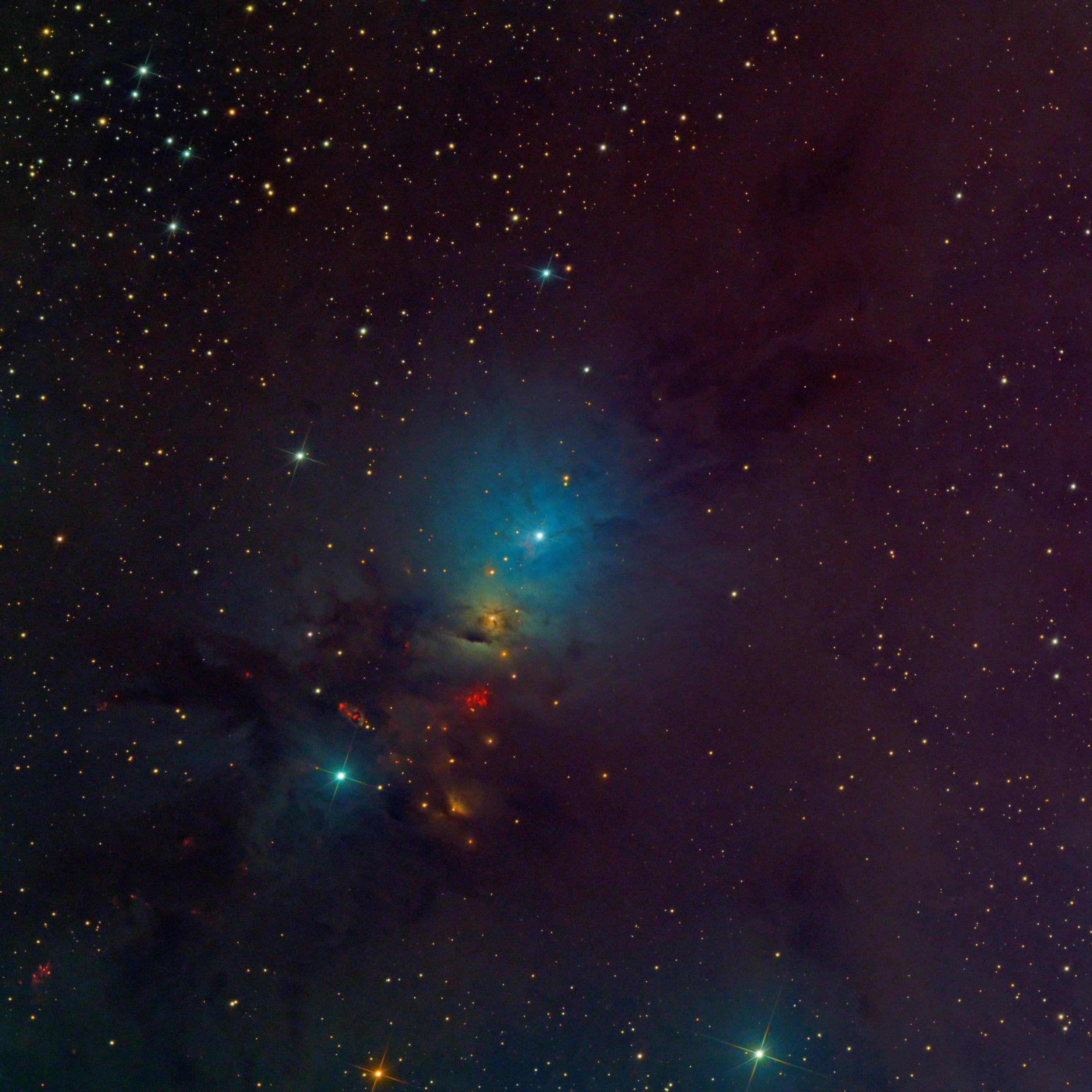 Embryo Nebula (NGC 1333) in Perseus Astrophotography Martin Rusterholz